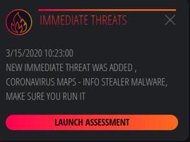 Immediate Threats