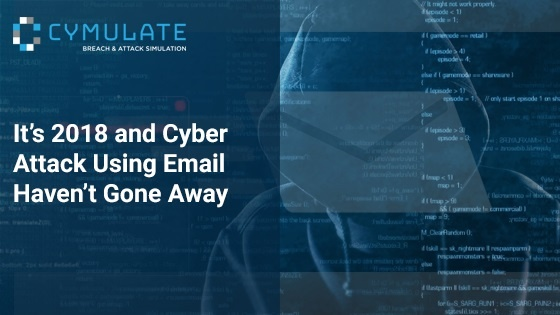 It's 2018 and Cyber Attacks Using Email Haven't Gone Away